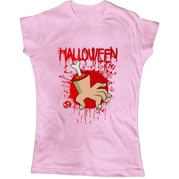 Женская футболка Хэлоуин Рука в крови
