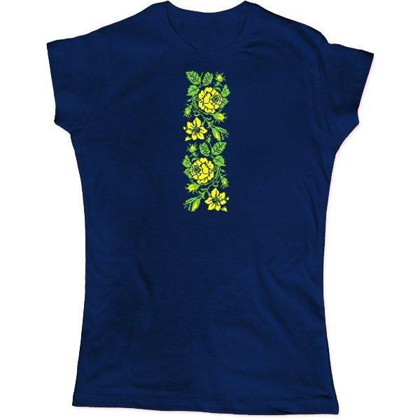 Женская футболка Женская Вышиванка