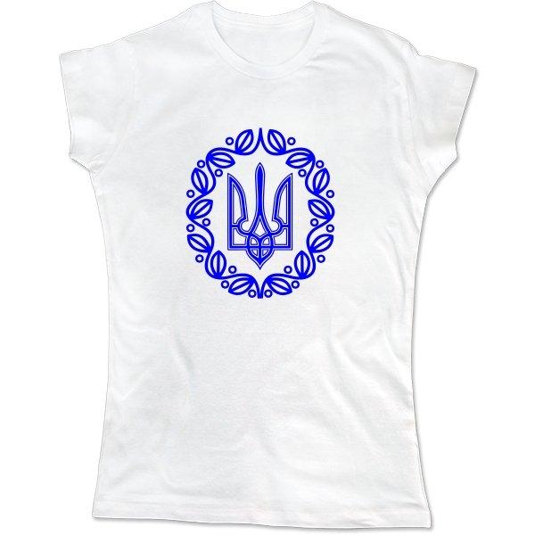 Женская футболка С символикой Украины