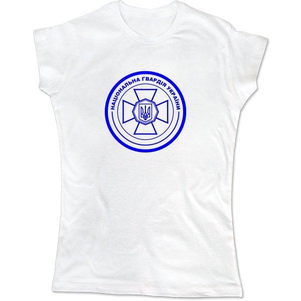 Женская футболка Націонаьна Гвардія Герб