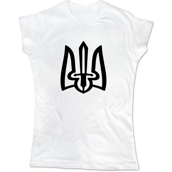 Женская футболка Козацький Тризуб
