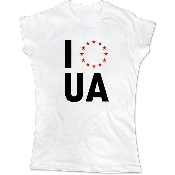 Женская футболка Объединение с Евросоюзом