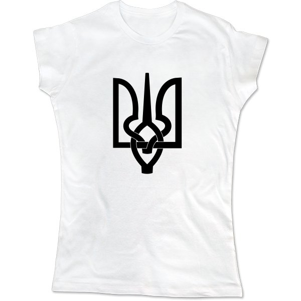 Женская футболка Трезубец ART