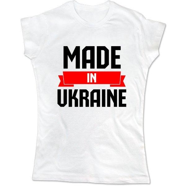 Женская футболка Made in Ukraine