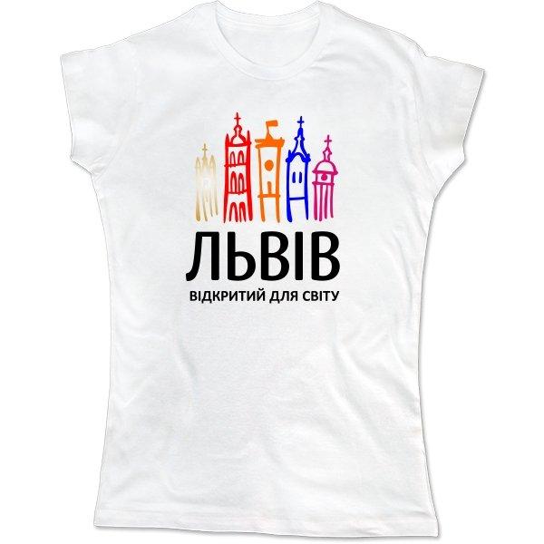 Женская футболка Львів