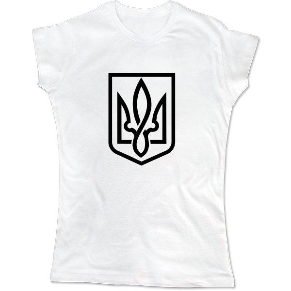 Женская футболка Український Тризубець