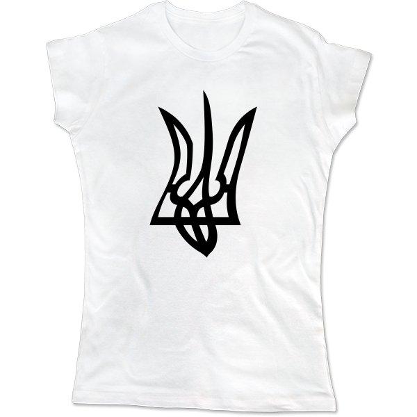 Женская футболка Искривленный Герб