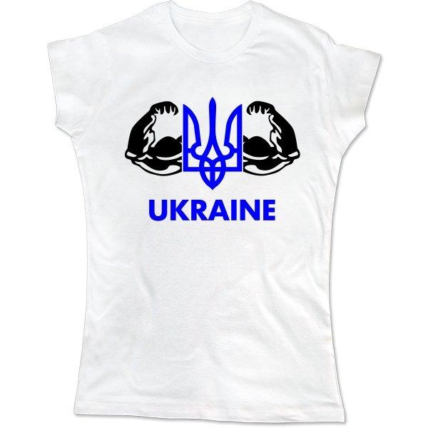 Женская футболка Сильна Україна