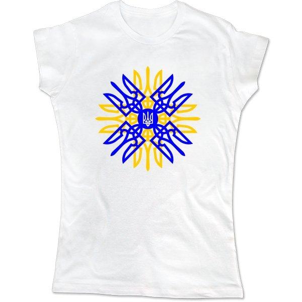 Женская футболка Українське Сонце