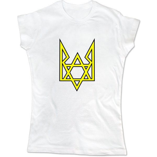 Женская футболка Трезубец Звезда