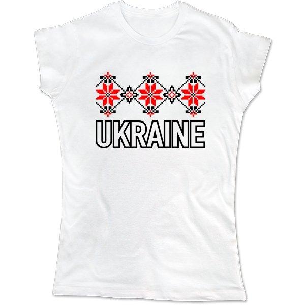 Женская футболка Орнамент Ukraine