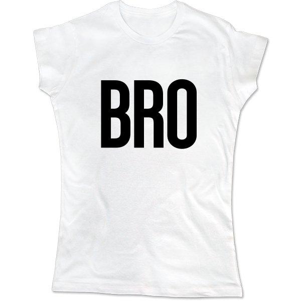 Женская футболка BRO