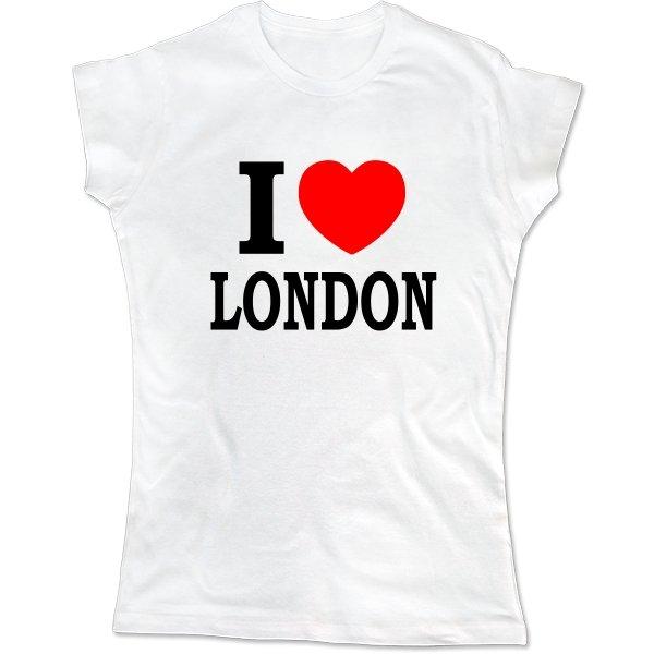 Женская футболка Я люблю Лондон