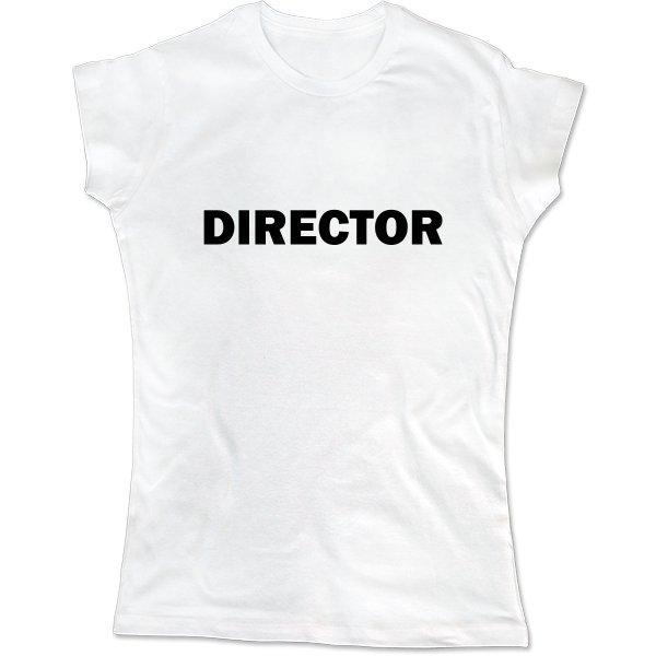 Женская футболка Директор