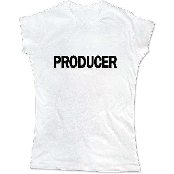 Женская футболка Продюсер