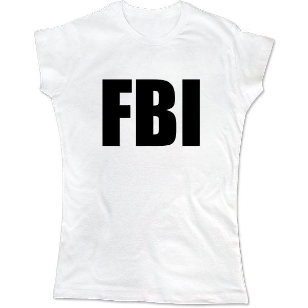 Женская футболка FBI