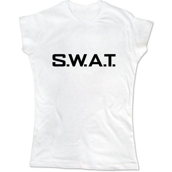 Женская футболка SWAT