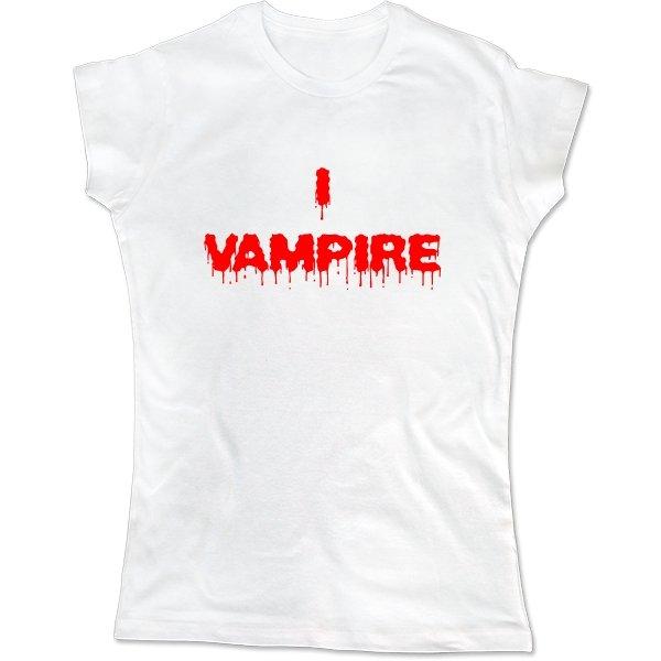 Женская футболка Я Вампир