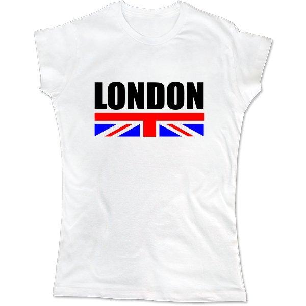 Женская футболка London