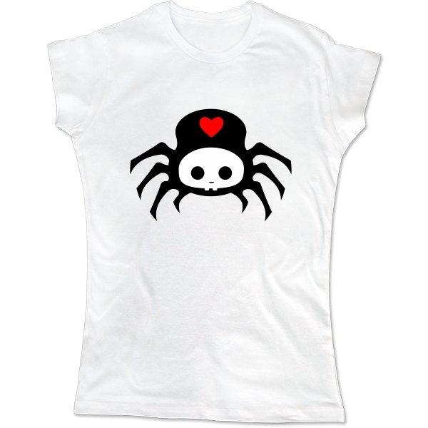 Женская футболка Паучок