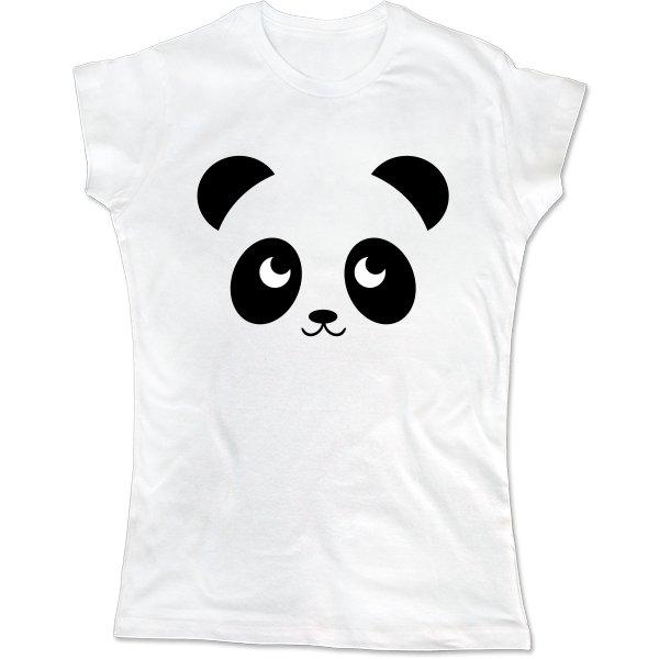 Женская футболка Маленькая Панда