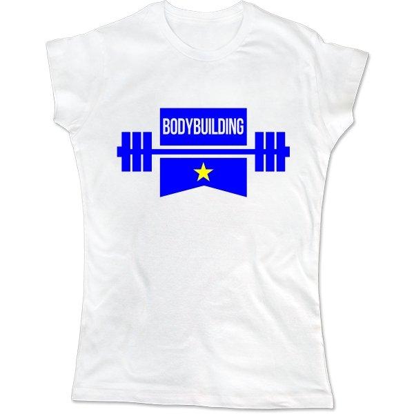 Женская футболка Звезда Бодибилдинга