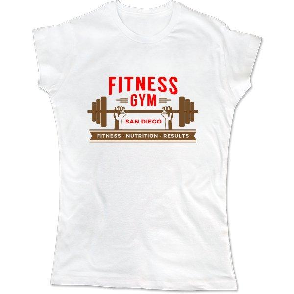 Женская футболка Fitness Gym
