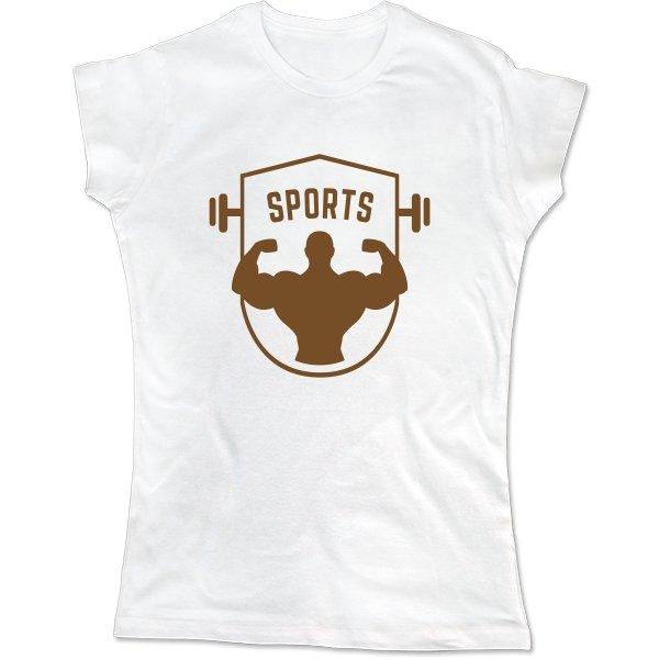Женская футболка Sports