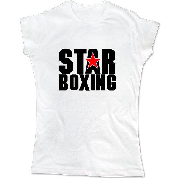 Женская футболка Звезда Бокса