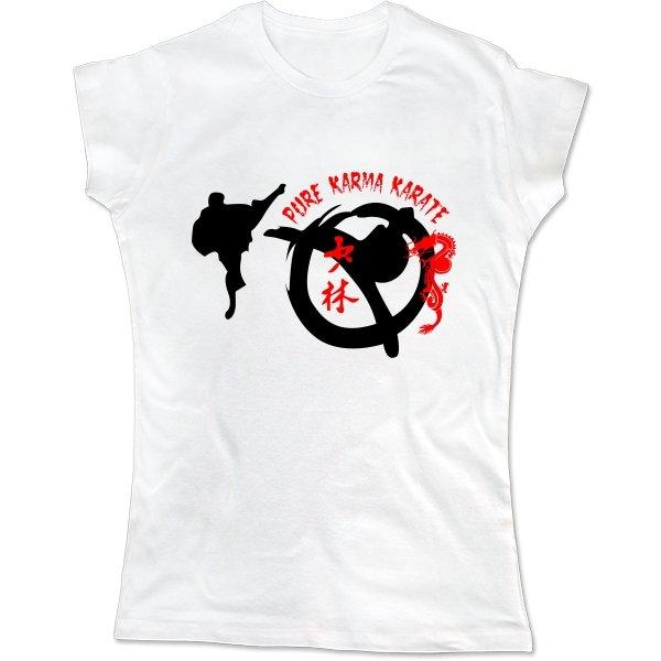 Женская футболка Каратэ