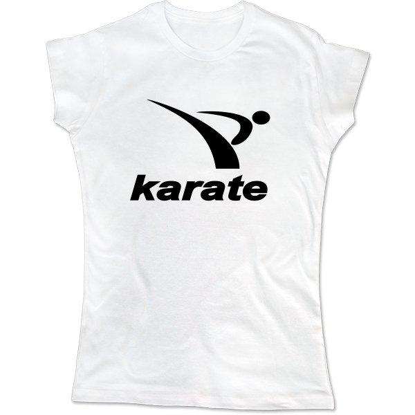 Женская футболка Karate лого