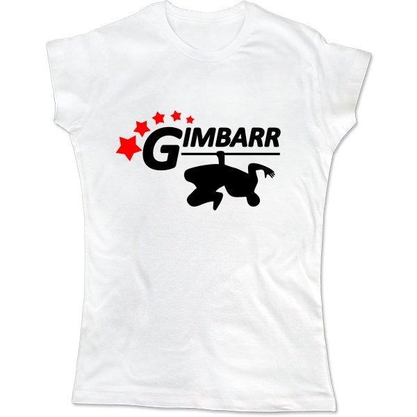 Женская футболка Gimbarr