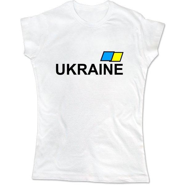 Женская футболка Ukraine