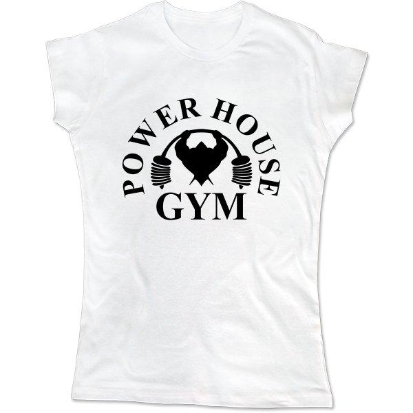 Женская футболка Power House Gym