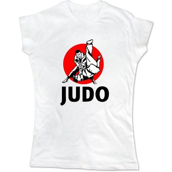 Женская футболка Дзюдо