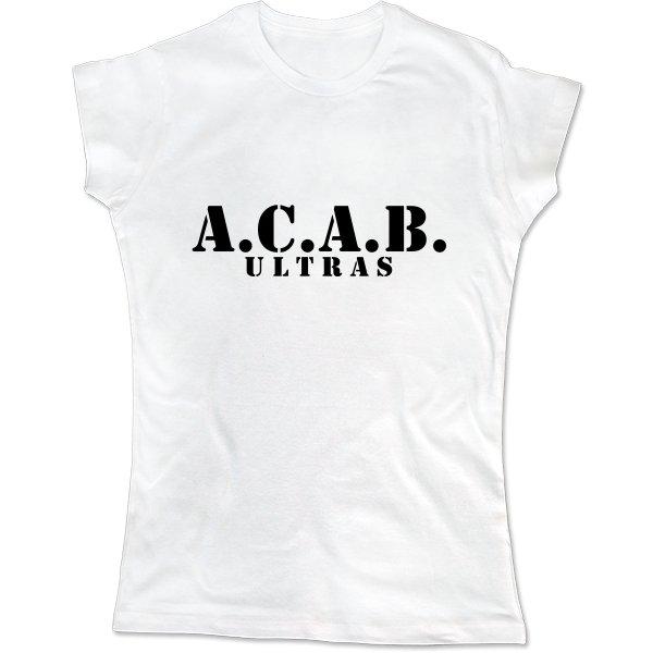 Женская футболка A.C.A.B. Ultras