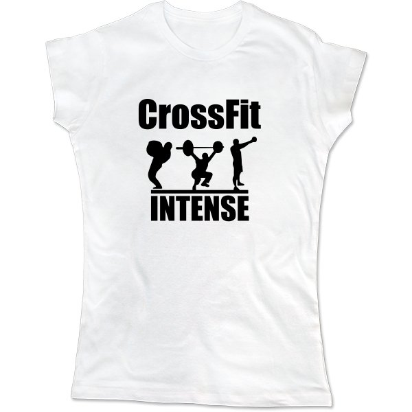 Женская футболка CrossFit Intense