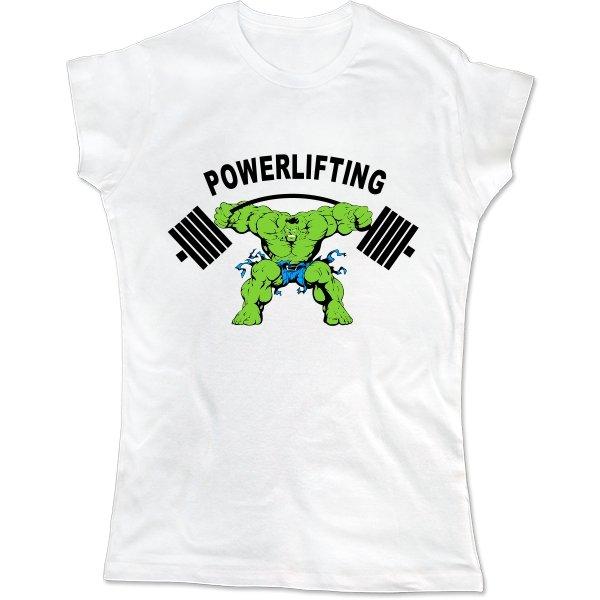 Женская футболка Powerlifting