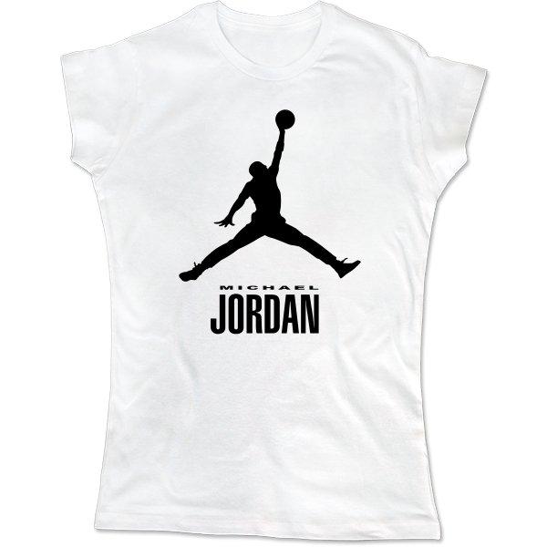 Женская футболка Майкл Джордан