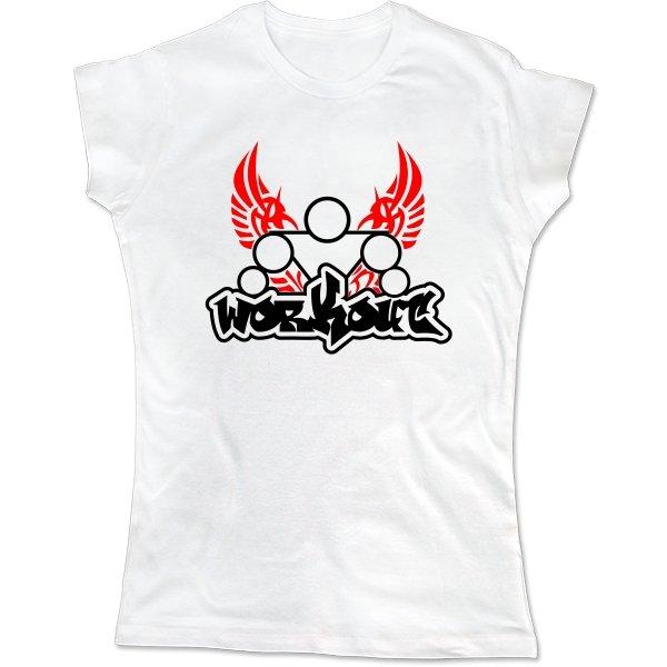 Женская футболка Workout