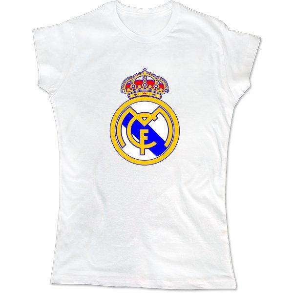 Женская футболка FC Real Madrid
