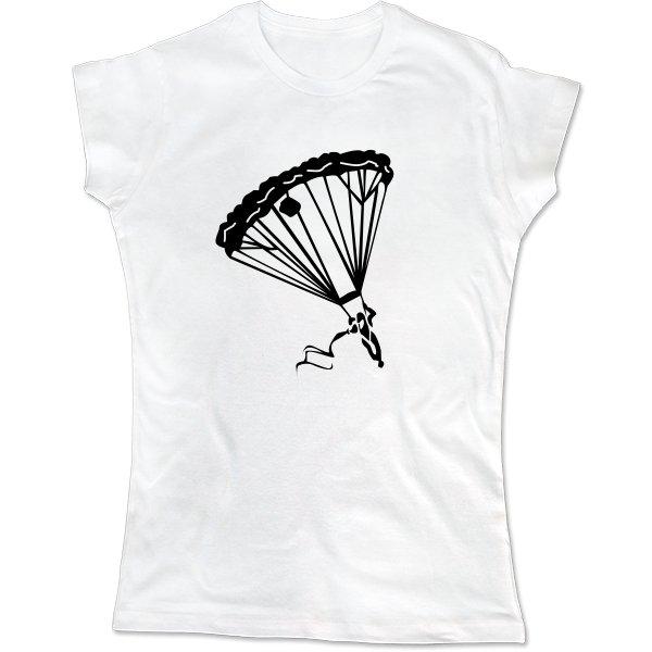 Женская футболка Парашютный Спорт