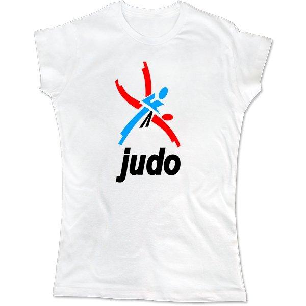 Женская футболка Логотип Дзюдо