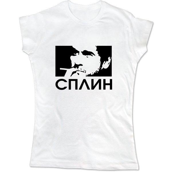 Женская футболка Сплин