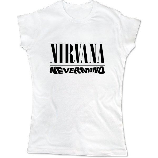 Женская футболка Группа Nirvana Nevermind