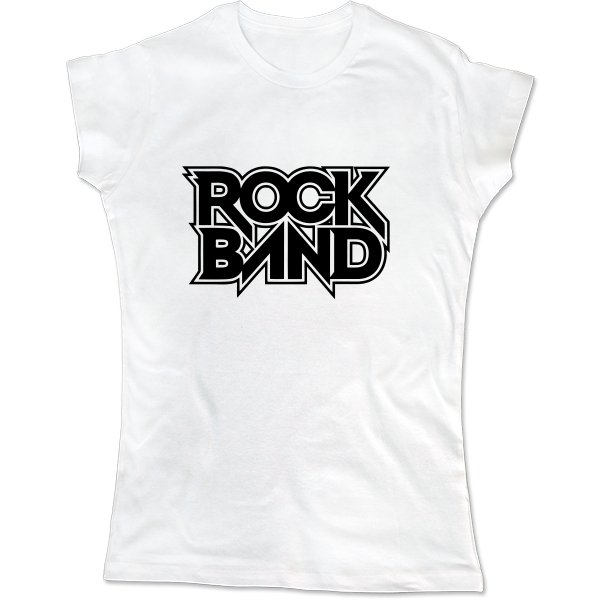 Женская футболка Rock Band