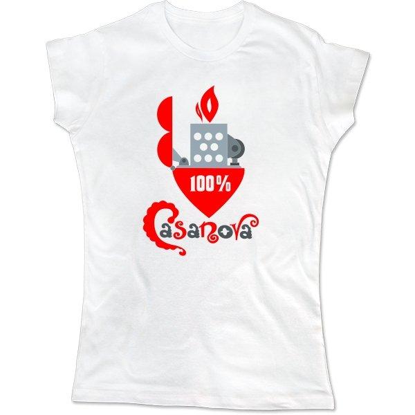 Женская футболка Казанова