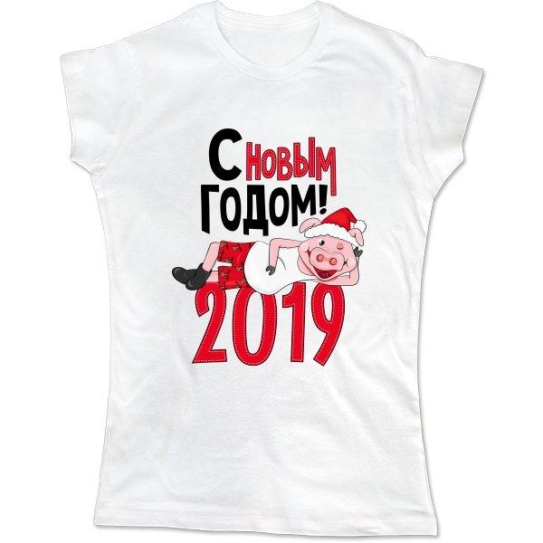 Женская футболка 2019 год