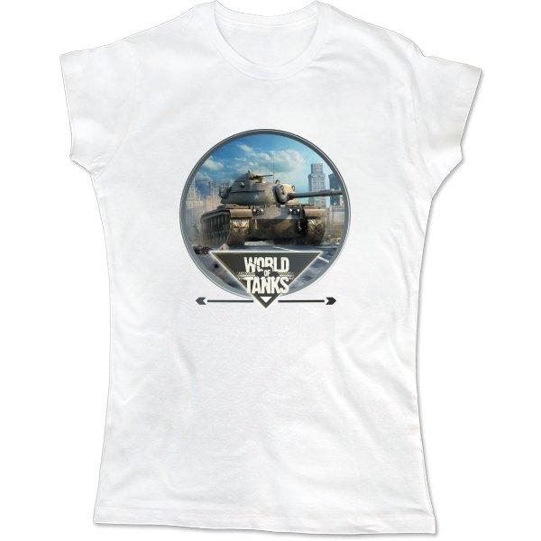 Женская футболка World of Tanks прицел