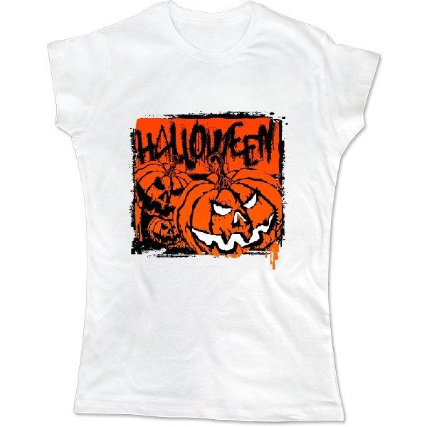 Женская футболка Страшный Хэлоуин